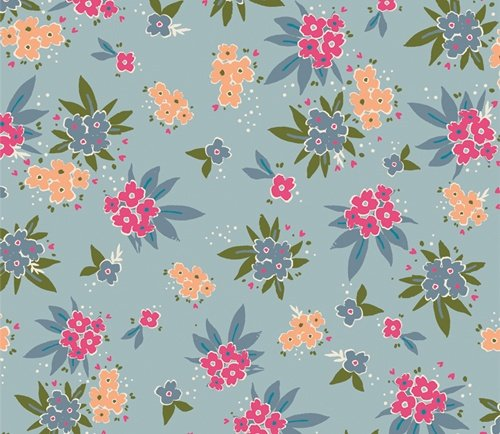 Open Heart by Maureen Cracknell for Art Gallery Fabrics (AGF) - Cherished Gatherings Glint