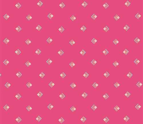 Open Heart by Maureen Cracknell for Art Gallery Fabrics (AGF) - Everlasting Tokens Pink
