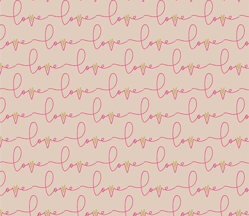 Open Heart by Maureen Cracknell for Art Gallery Fabrics (AGF) - Written Love Soft