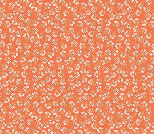 Open Heart by Maureen Cracknell for Art Gallery Fabrics (AGF) - Sweet Floret Peach