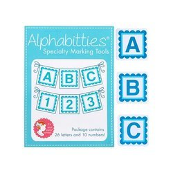 Alphabitties by It's Sew Emma - 3 Colour Choices