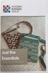 Just the Essentials - Modern Blended Quilts - Cross body purse