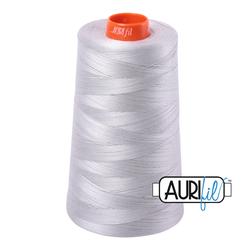 Aurifil Cotton Mako 50 wt Thread - Cone - Aluminum  #2615