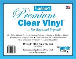By Annie Clear Vinyl 16 x 54 Roll