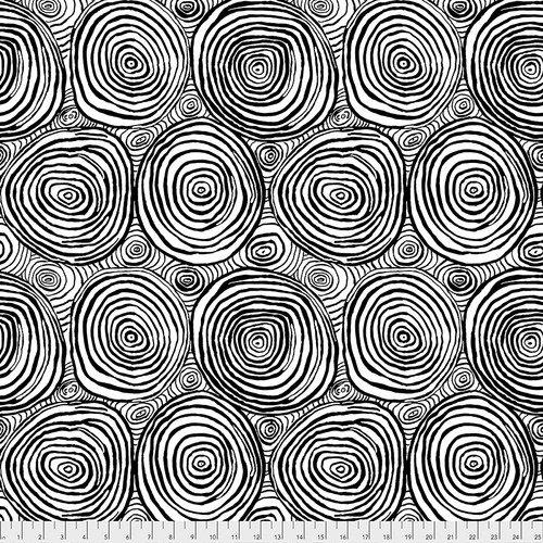Kaffe Fassett Collective -  Onion Rings- Black