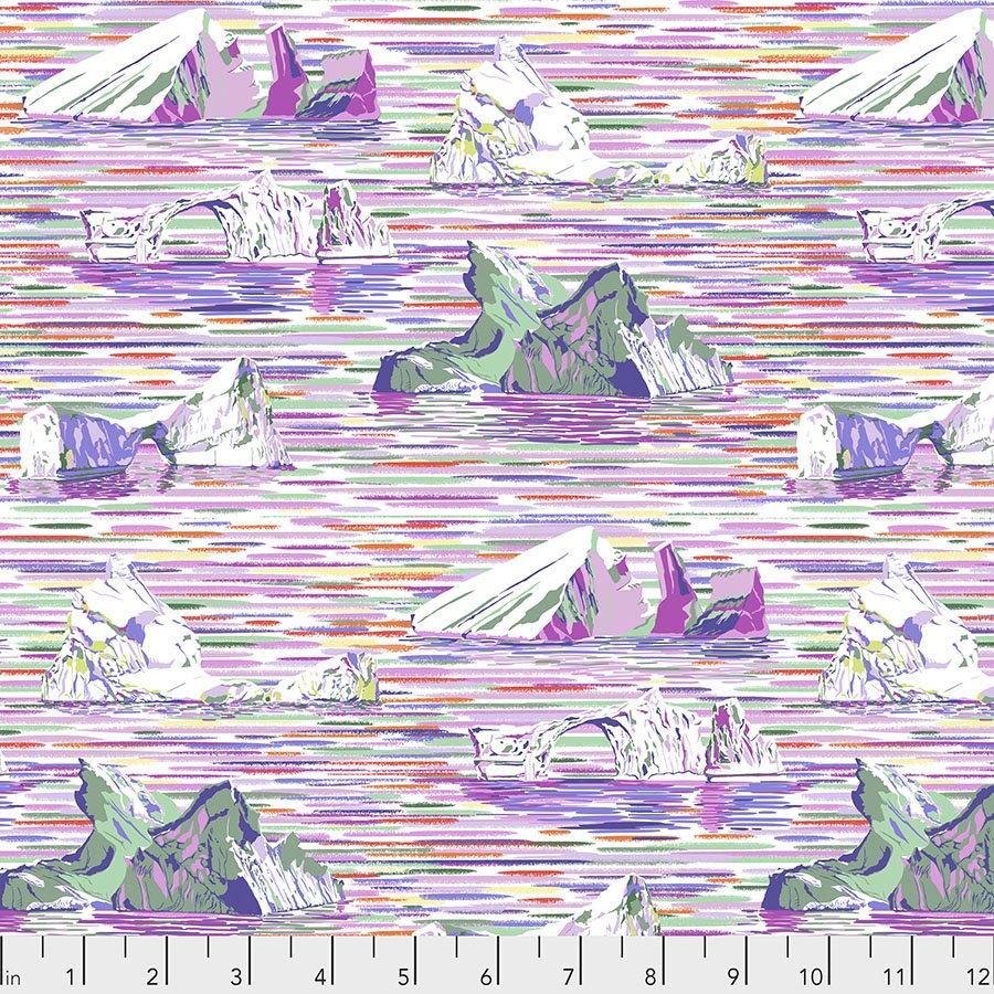Migration by Lorraine Turner - Icebergs - Lavender