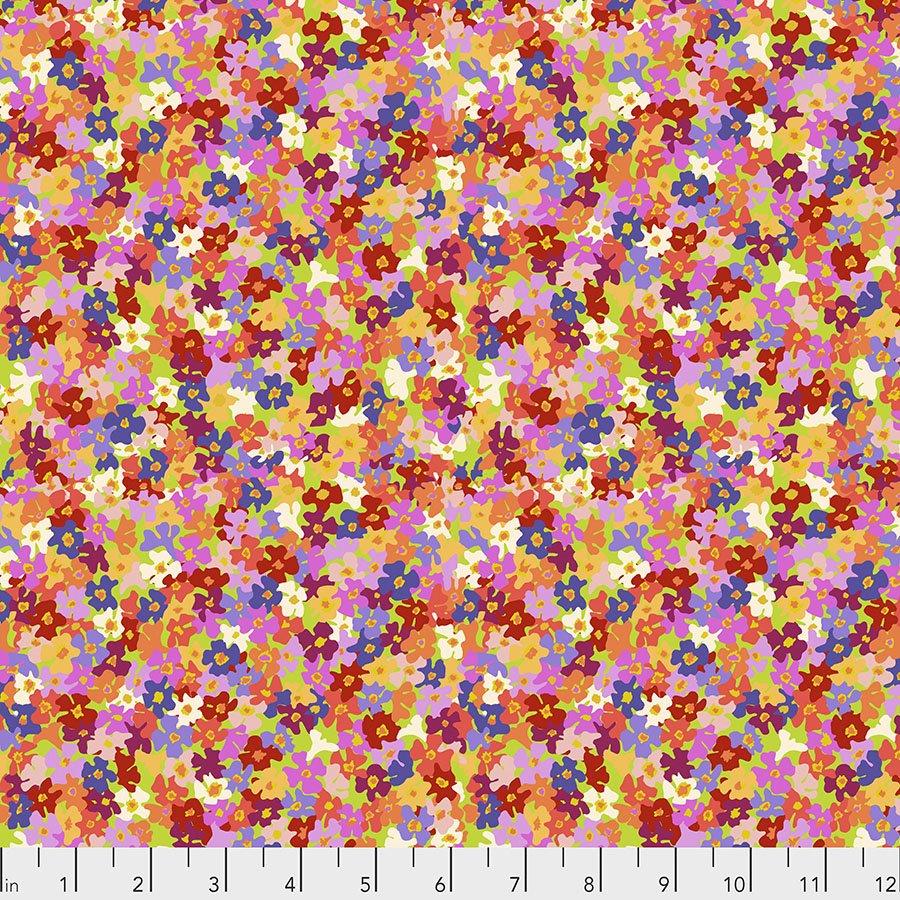 Migration by Lorraine Turner - Butterfly Bush Petals - Multi