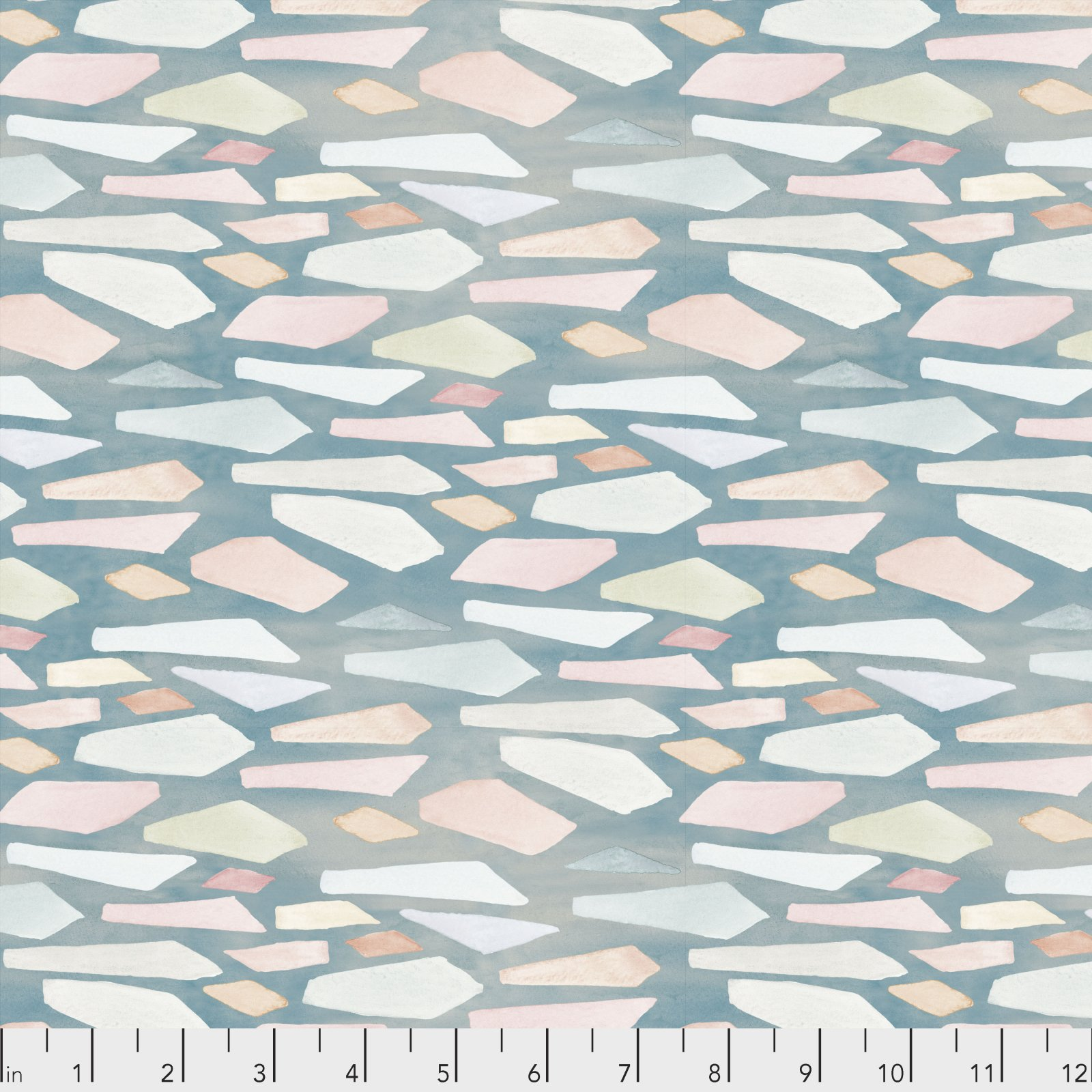 Time & Tide by Shell Rummel for Free Spirit Fabrics - Beachglass - Ocean