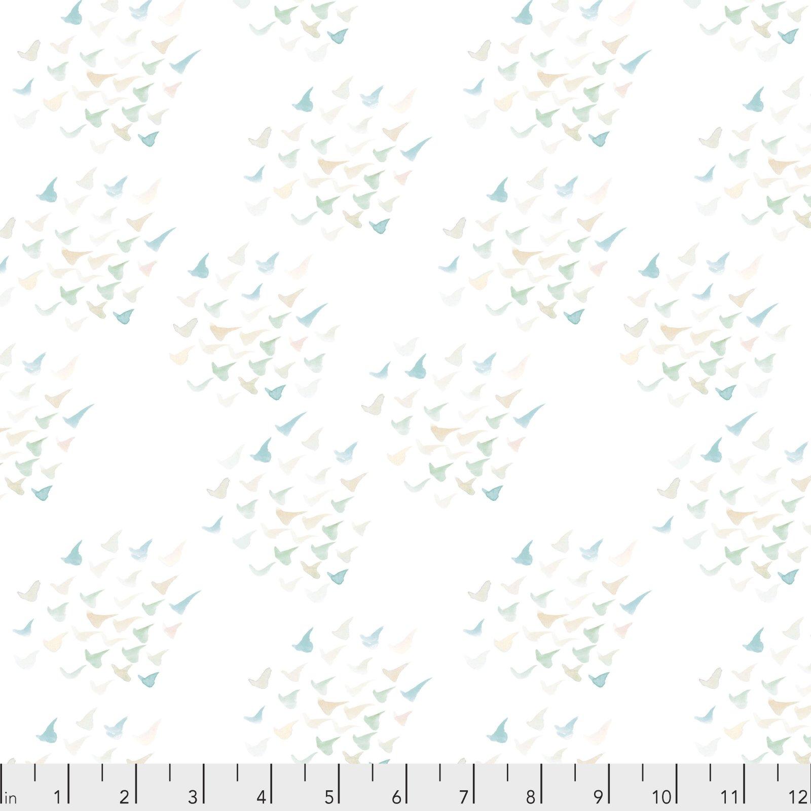 Time & Tide by Shell Rummel for Free Spirit Fabrics - Murmuration - Cloud