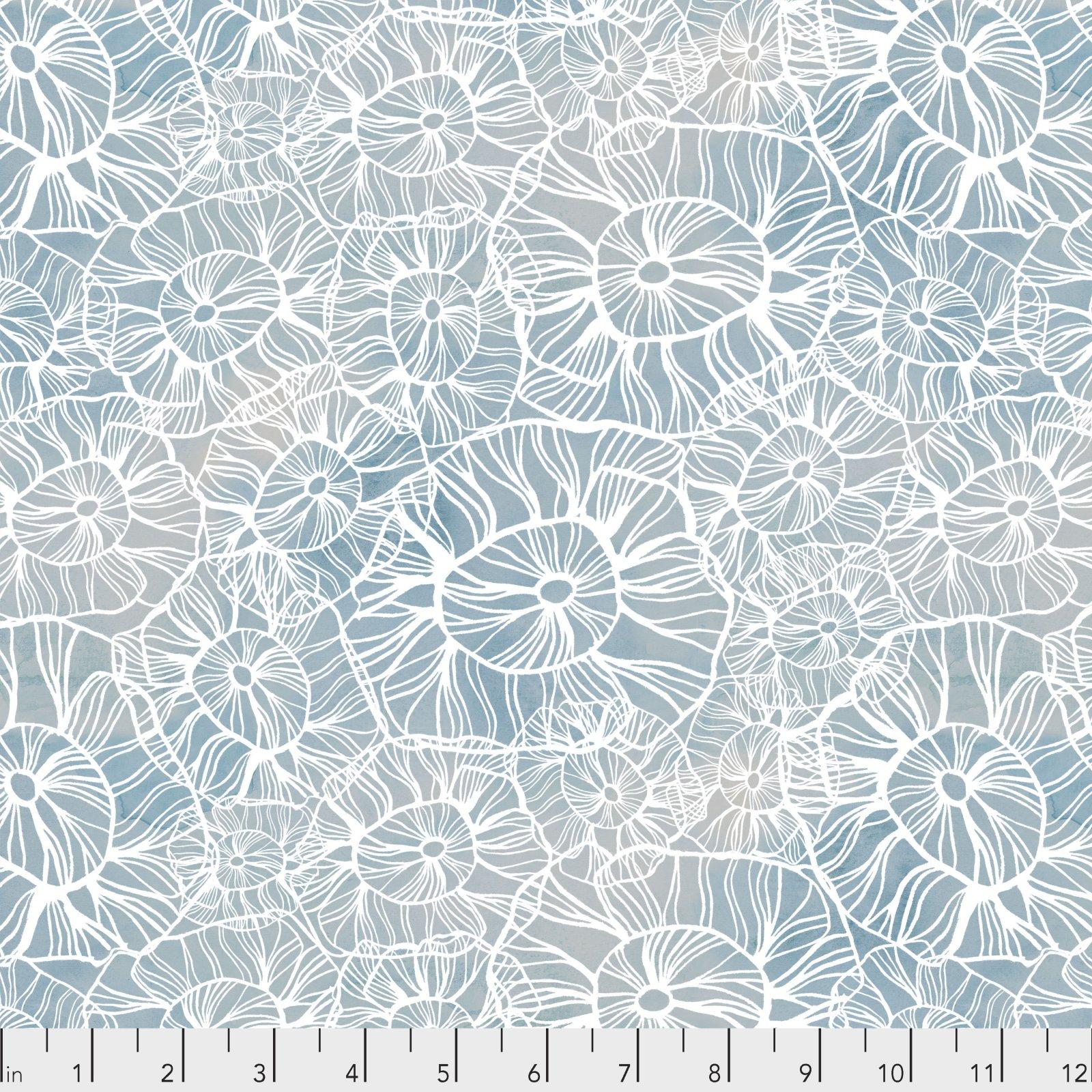 Time & Tide by Shell Rummel for Free Spirit Fabrics -Sea Flower - Ocean