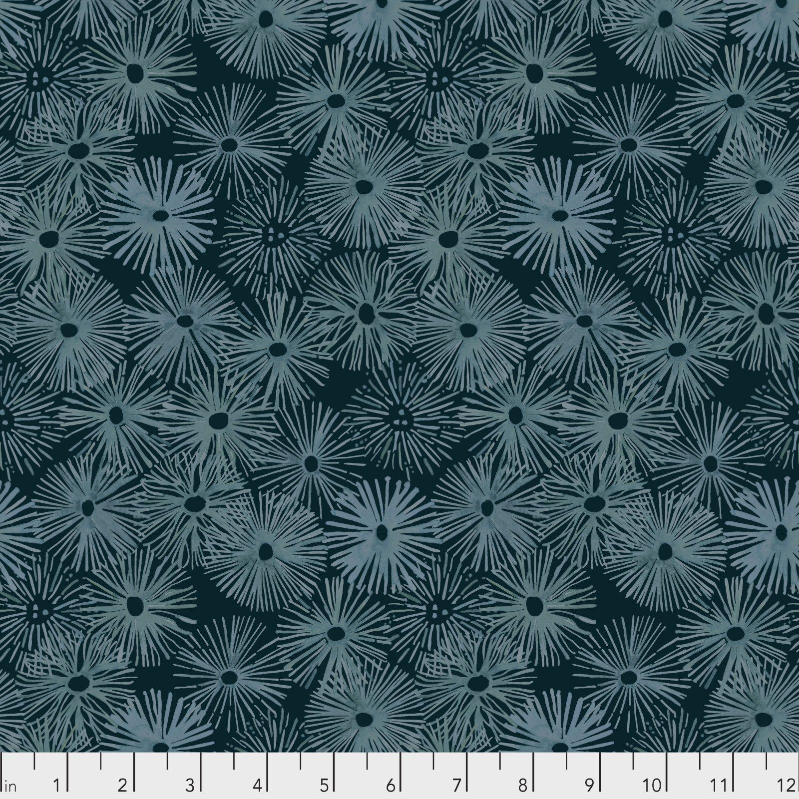 Time & Tide by Shell Rummel for Free Spirit Fabrics - Urchin - Depths
