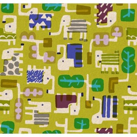 Safari by Masaru Suzuki for Cotton + Steel - Canvas -Grass