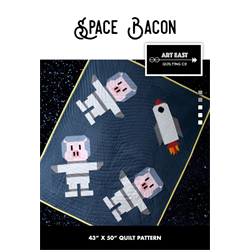 Space Bacon Pattern by Art East Quilting Co.