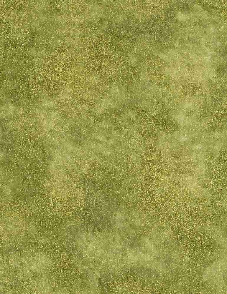 Autumn Symphony by Timeless Treasures - Shimmer - Moss