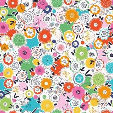 Silk Roads by Ali Brookes for Dashwood Studio - Blossom