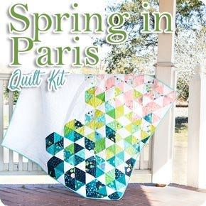 Pre-Order: Spring in Paris Quit Kit Featuring Dance in Paris by Zen Chic - QAL begins April 28th
