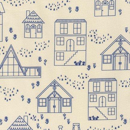 ON THE LIGHTER SIDE - Houses Blue