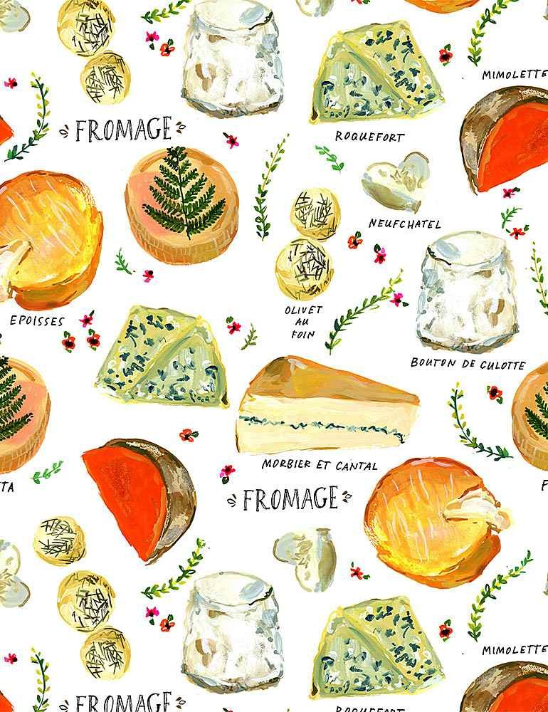 Pardon My French - White Fromage by Dear Stella