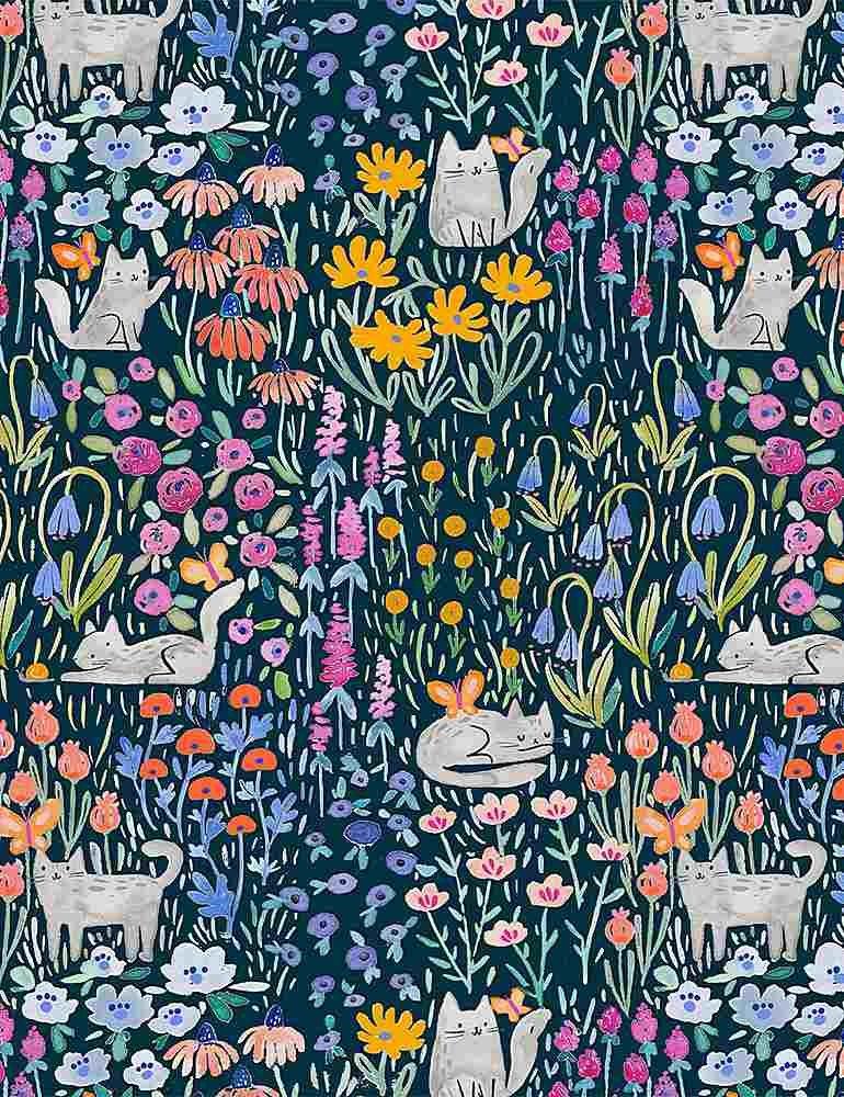 Here Comes the Sun by Dear Stella - Kitty Garden- Multi