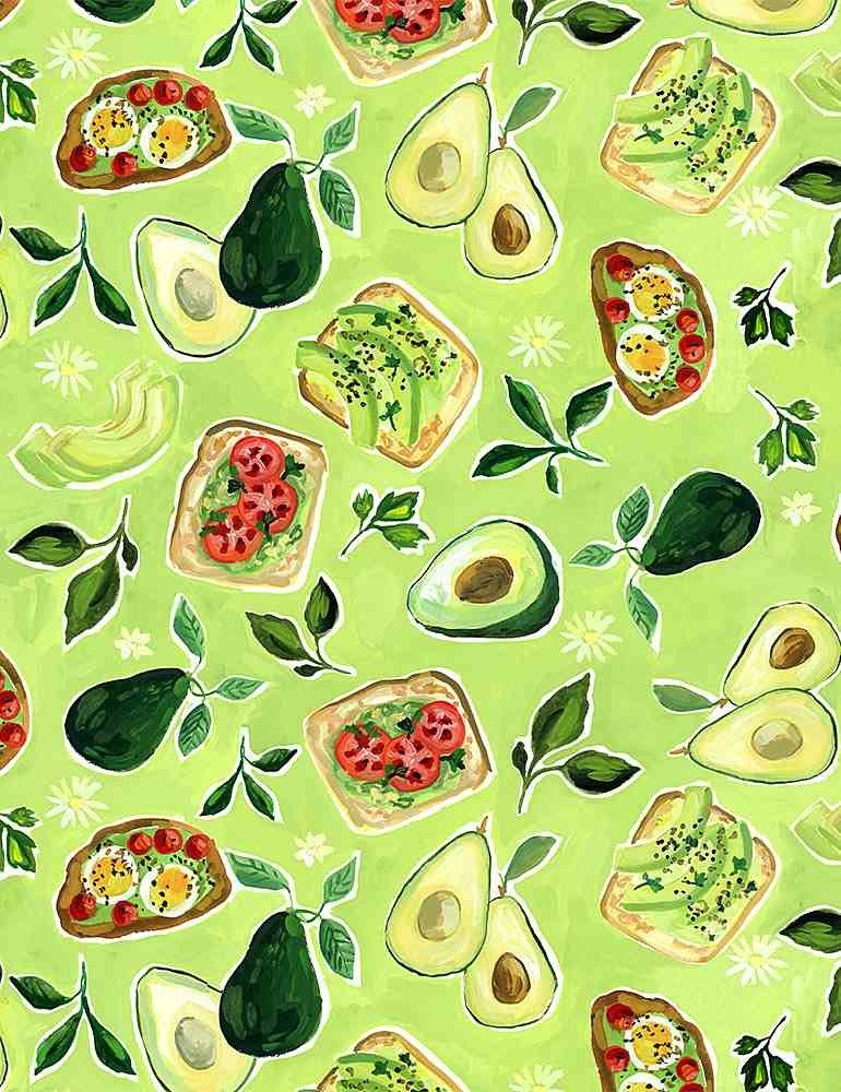 Chef's Table by Dear Stella - Avocado Toast - Multi