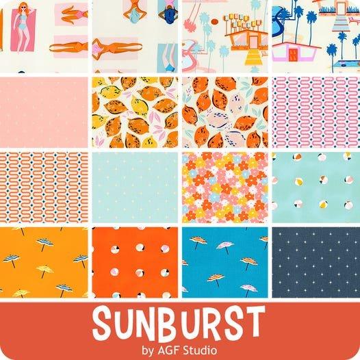 Sunburst by AGF Studio for Art Gallery Fabrics - 16 Fat Quarters Bundle