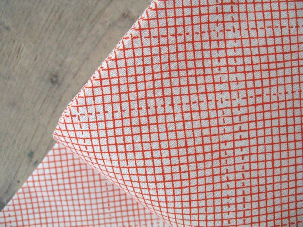 Euclid by Carolyn Friedlander for Robert Kaufman - Tangerine