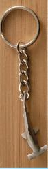 Key Chain Hammerhead