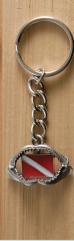 Key Chain Jaws Dive