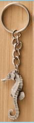 Key Chain Sea Horse