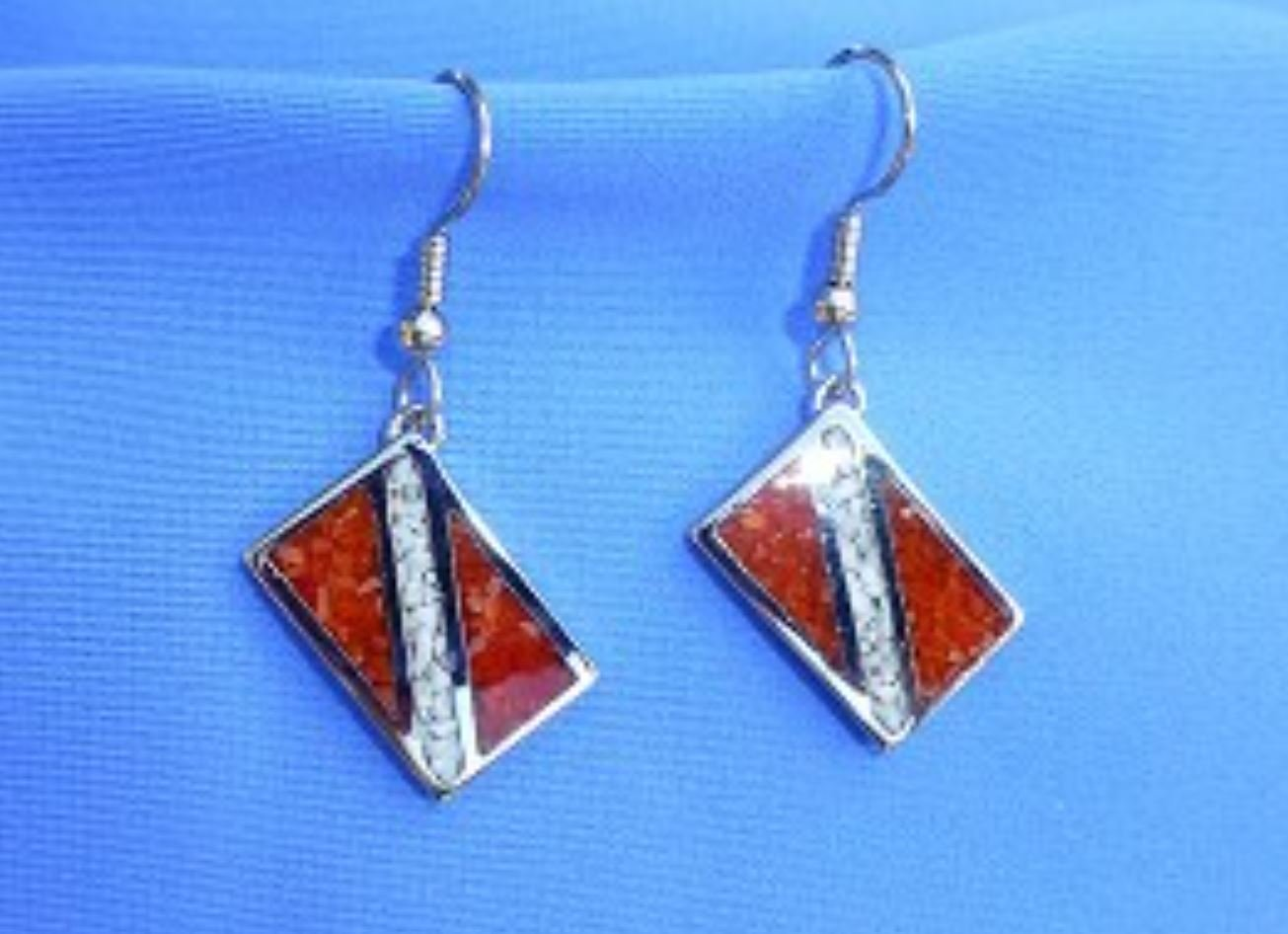 Dive Flag Earrings