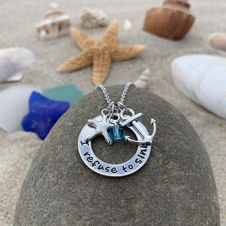 I Refuse To Sink Necklace