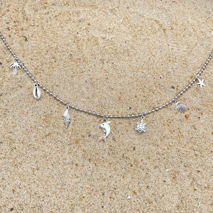Ocean Charm Necklace