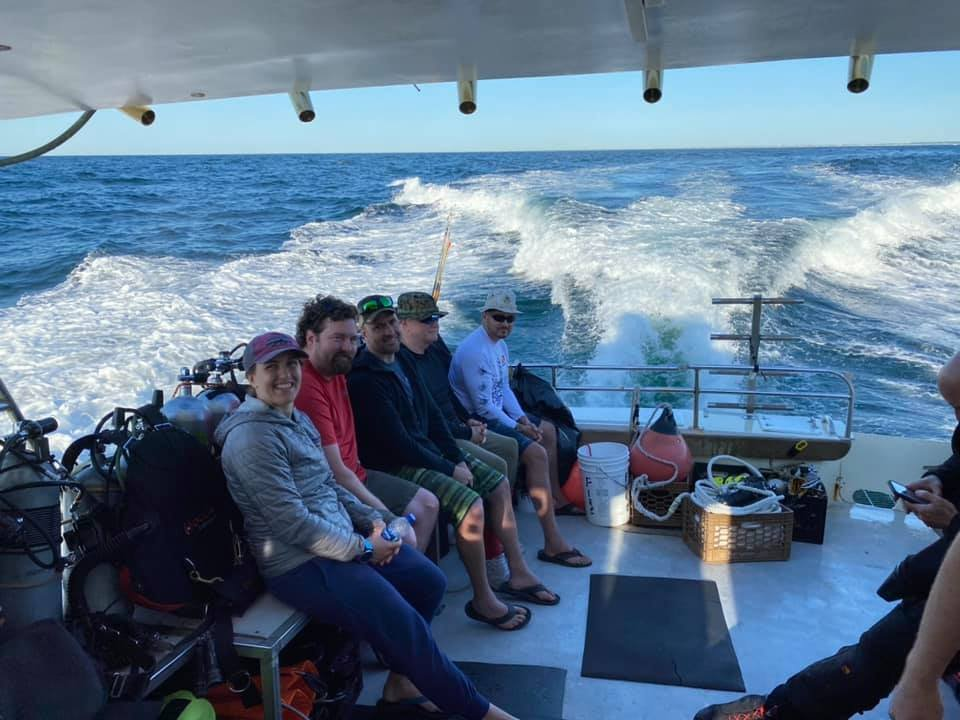New Jersey Dive Charter 8/1 and 8/2