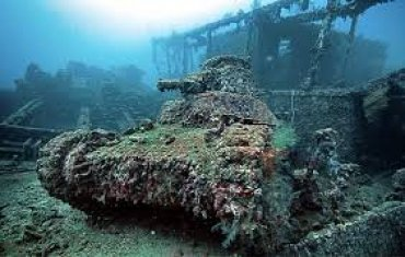 Chuuk Ghost Fleet Tank