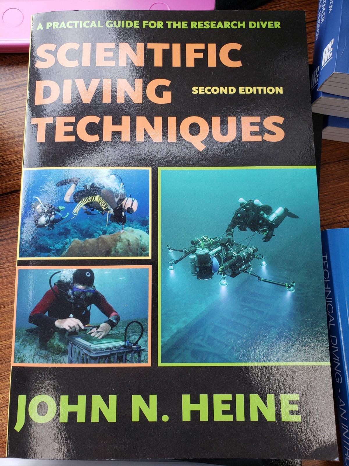 Scientific Diving Textbook