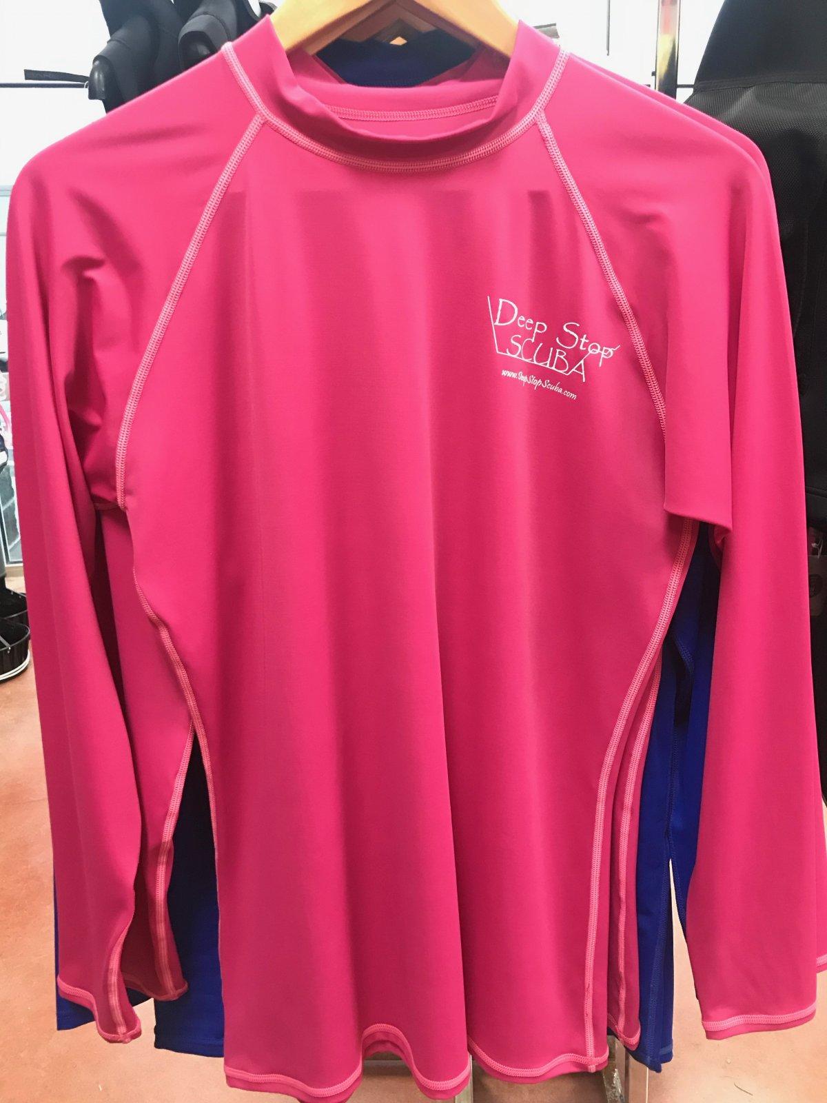 Women's Pink Swim Shirt