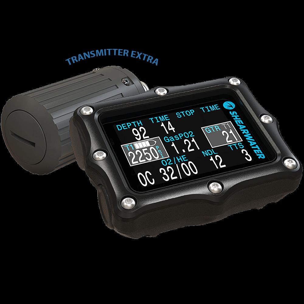 Shearwater Perdix AI and Transmitter