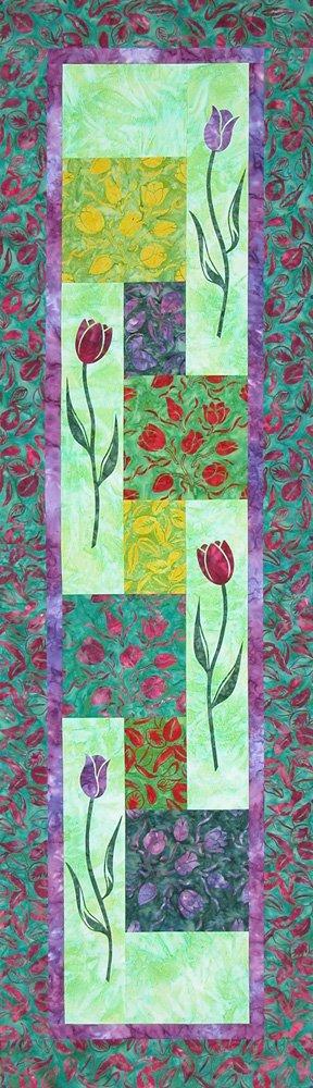 Summer Home Puffins Wall Hanging Quilt Kit Batik Shania Sunga Designs