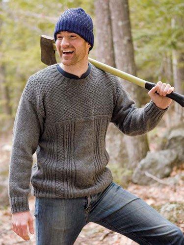 Beagle Gansey Sweater Kit