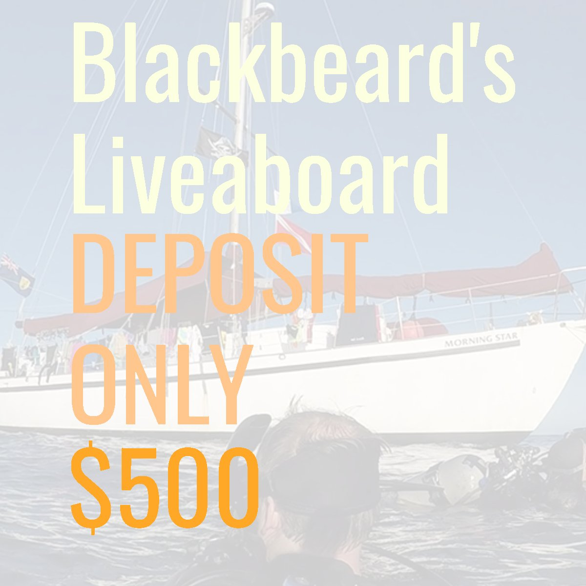 All Star Liveaboard Blackbeard Bahamas Jan 23-29 2021 Deposit ONLY