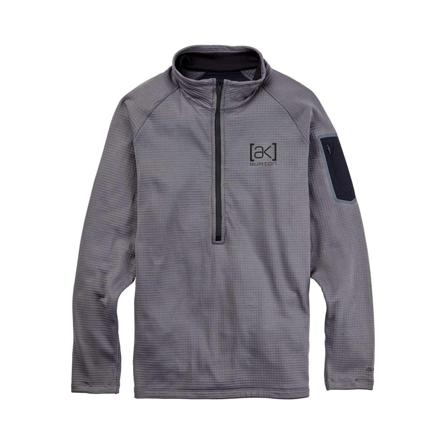 Burton Men's AK Helium Grid Fleece Half-Zip