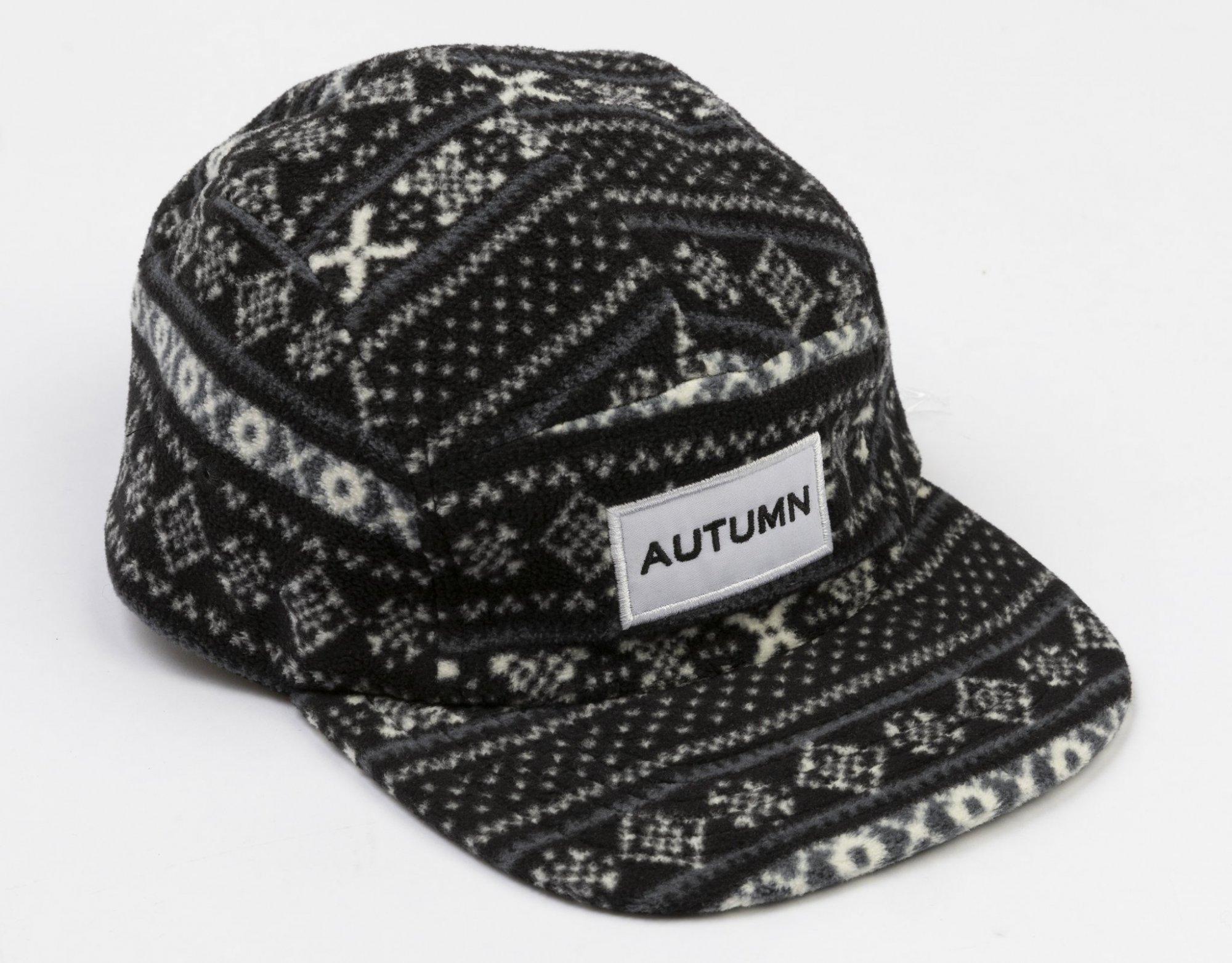 Autumn Fleece 5 Panel Hat