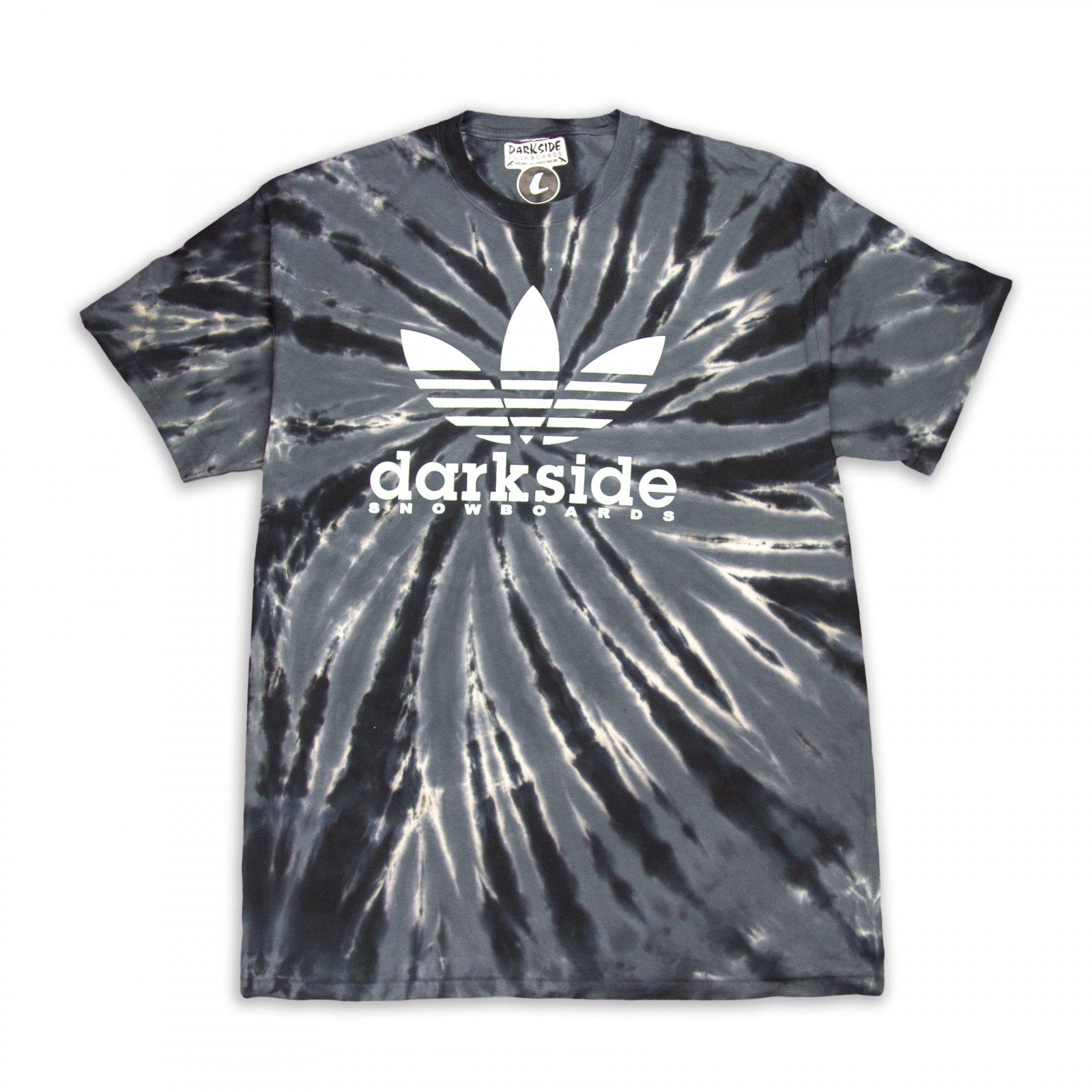 Darkside Four Stripe Tie Dye Tee Shirt