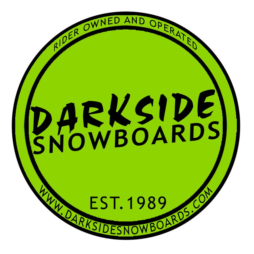 Darkside Logo Circle Sticker