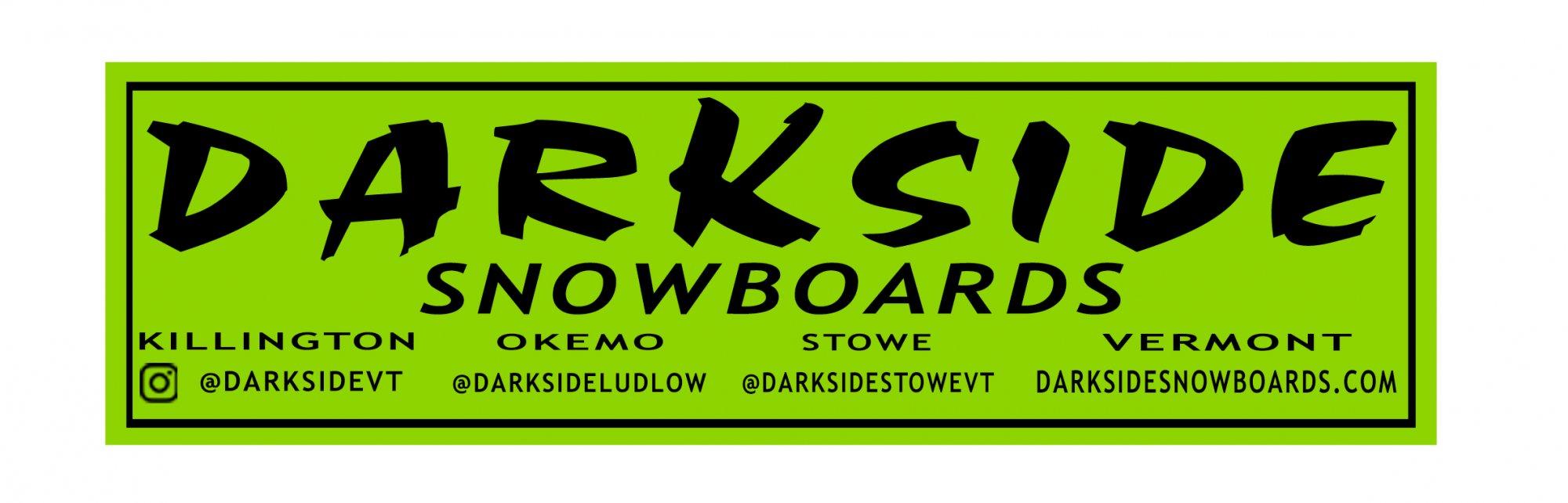 Darkside Logo Sticker