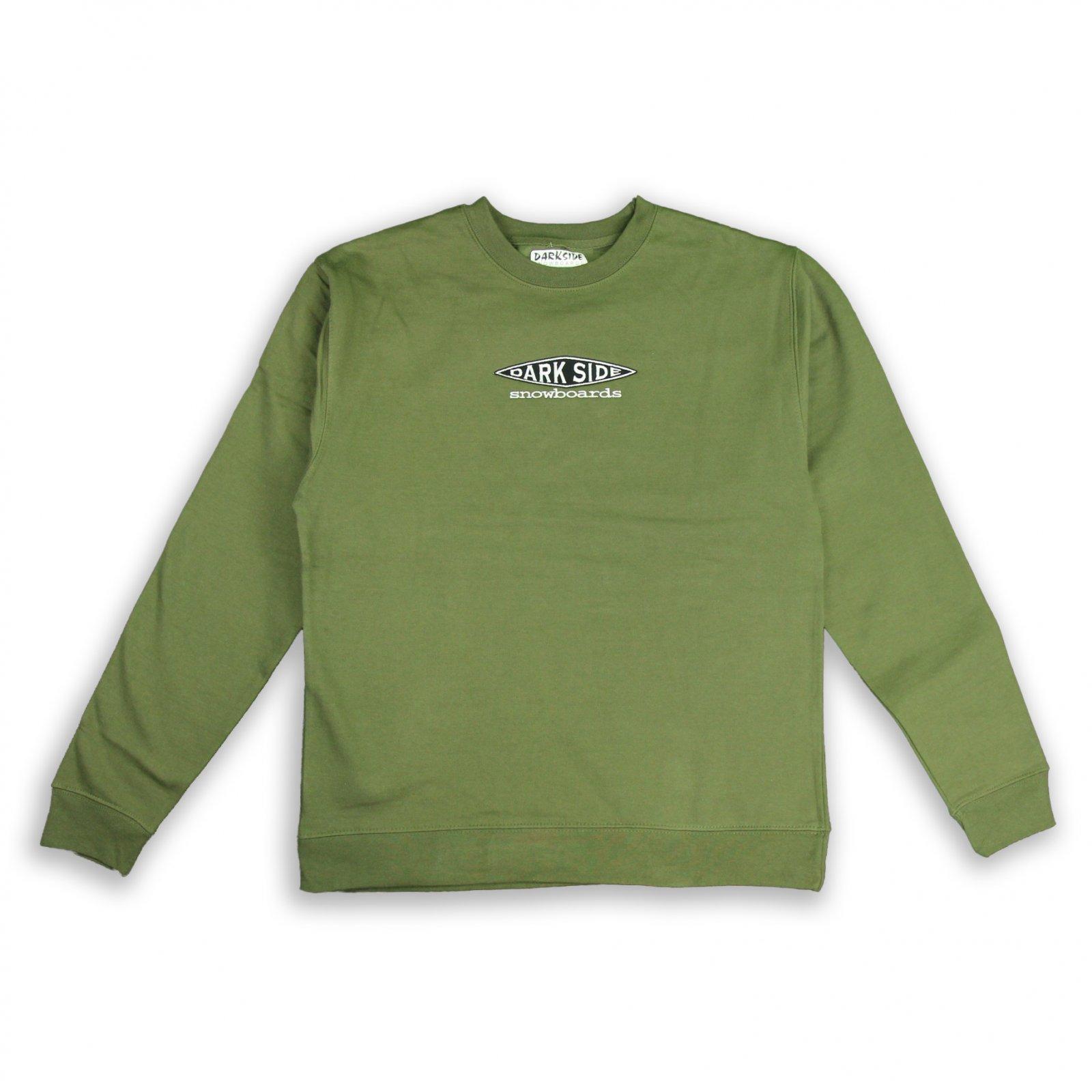 Darkside OG Diamond Embroidered Crew Neck Sweatshirt
