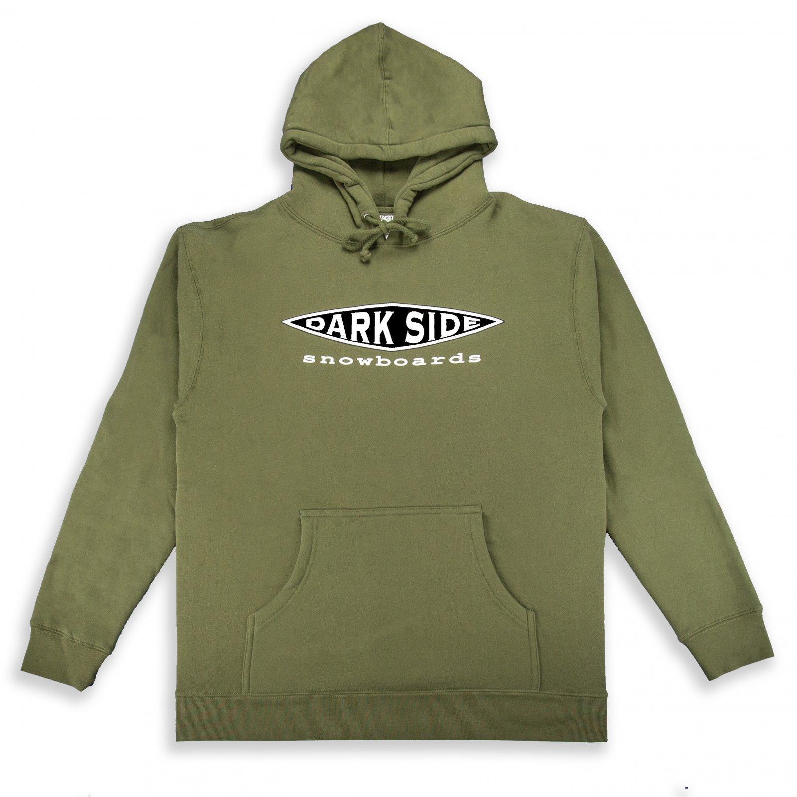 Darkside Panel Van Hoodie Army Green