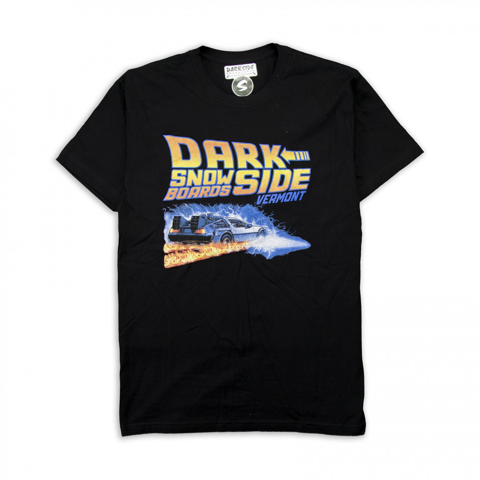 Darkside Back Back To The Future Short Sleeve Tee