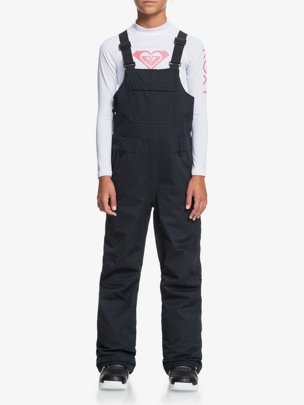 Roxy Girl's Non Stop Bib Snowboard Pant (Multiple Color Options)