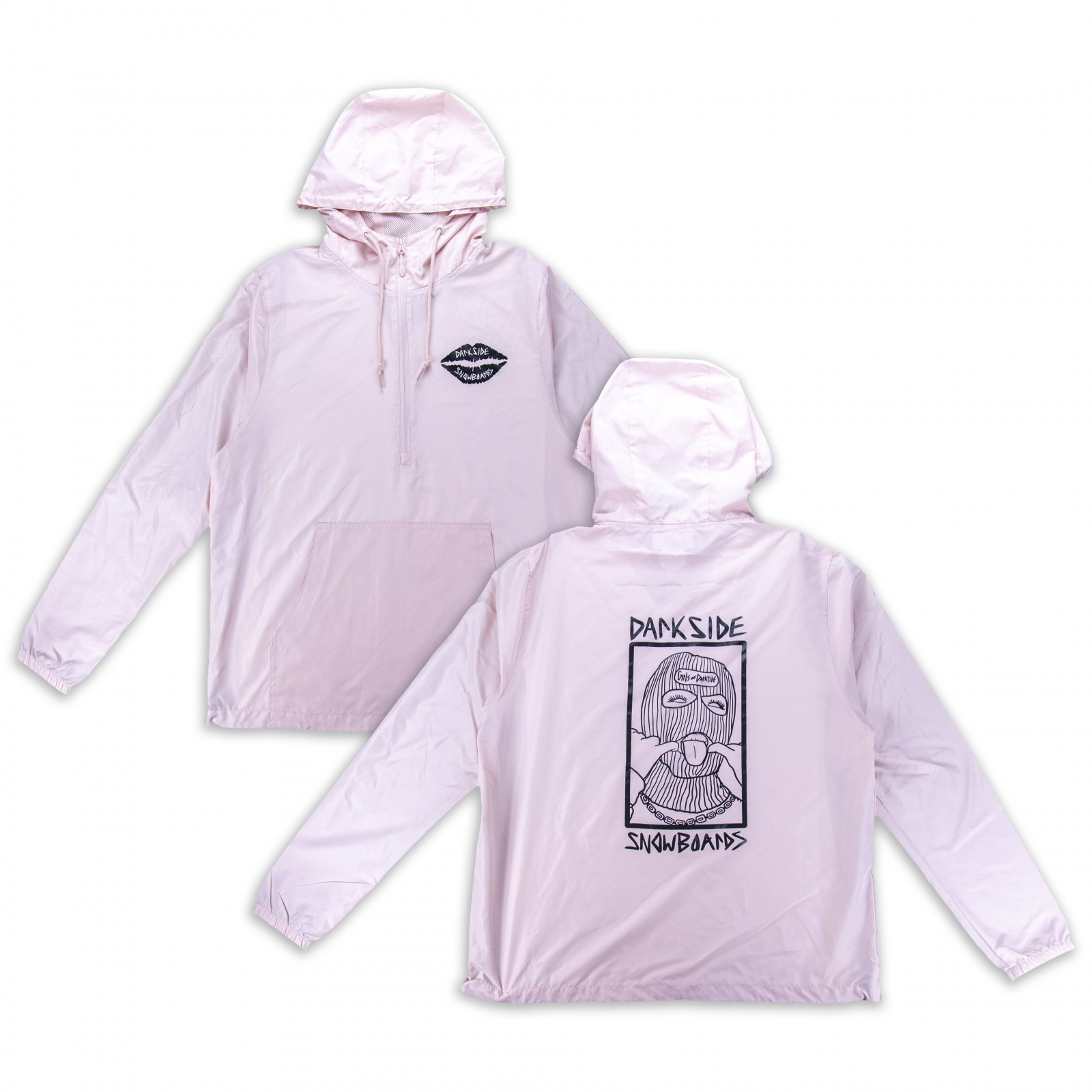 Girls of Darkside Soft Flex Lightweight Anorak Jacket